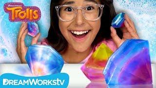 Rainbow Gem Soap | TROLLS DIYS