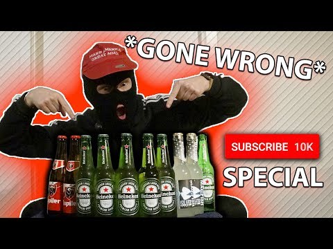 Chugging 10 Beers And Answering Q&A!! (10.000 SUB SPECIAL)