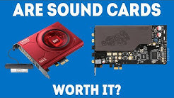 Are Sound Cards Worth It? [Simple Guide]