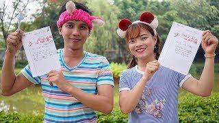 Nét Chữ Nết Người - Mẹ Dạy Con Rèn Luyện Chữ Viết ❤ BIBI TV ❤