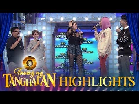 Vice Ganda notices Bela Padilla's outfit | Tawag Ng Tanghalan