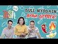 Bule Import Bandung Kepedesan Makan Ayam Geprek   TASTE TEST