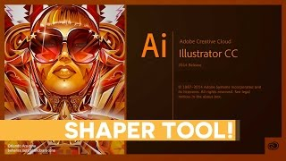 The NEW Shaper Tool in Illustrator CC