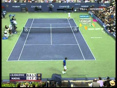Djokovic VS Nadal US Open 2011- Match Winning Set