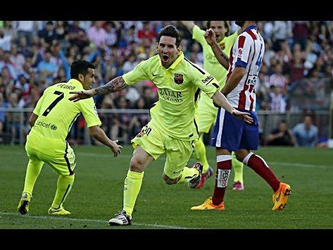 Atletico Madrid vs FC Barcelona 0-1 ● Barcelona Crowned La Liga Champions ● 17/05/2015