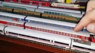 Spur N Modellbahn Größen Vergleich Spur N zu Spur H0 mit ICE