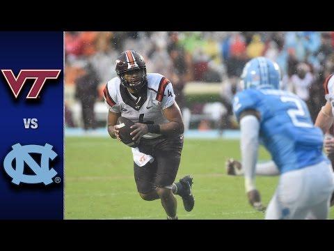 Virginia Tech vs. North Carolina Football Highlights (2016)