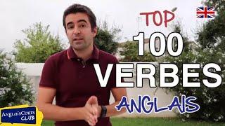 Le TOP 100 des Verbes Anglais les Plus Utilisés