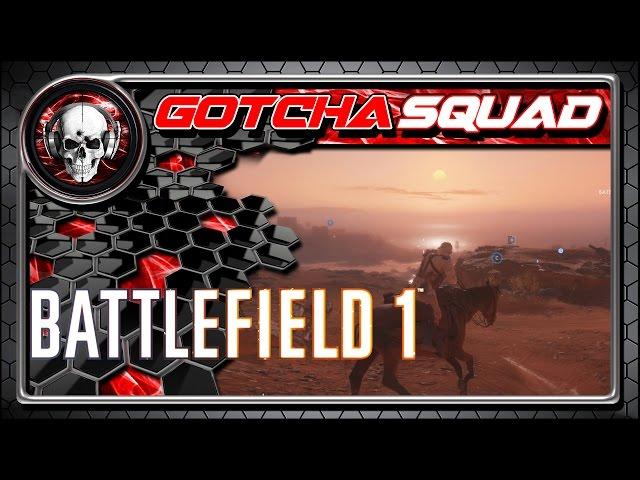 Battlefield 1 - Os Cavalos Saltitantes