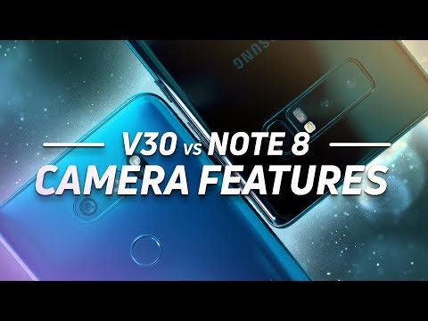LG V30 vs Note 8 Camera Features: Duel of the Dual