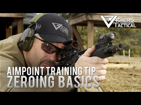 Aimpoint Training Tip