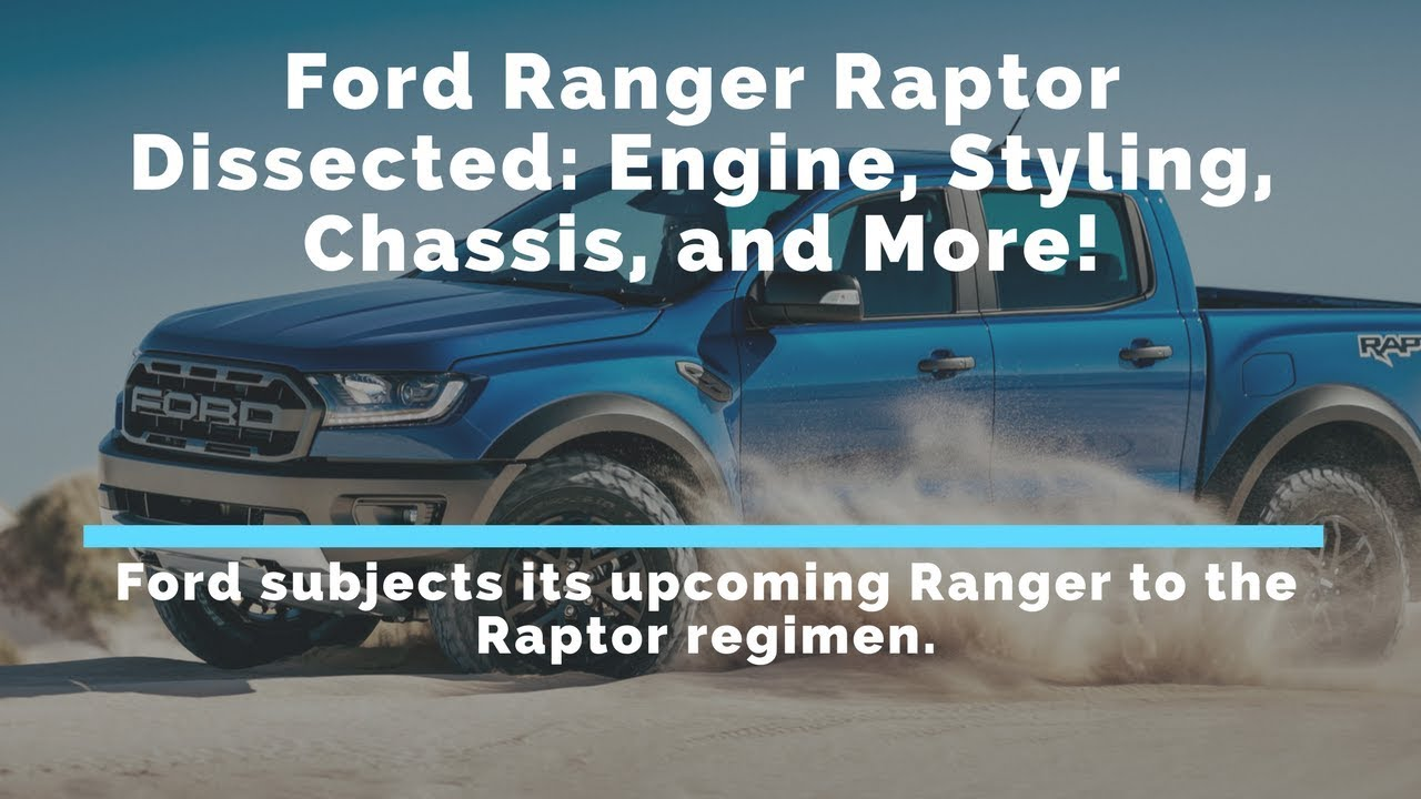 Hot 2018 The Most Power Ford Ranger Raptor Modified Dissected