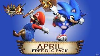 Monster Hunter 4 Ultimate - April DLC pack