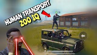 AFK Teammate Transport | PUBG Mobile | Random Matchmaking!