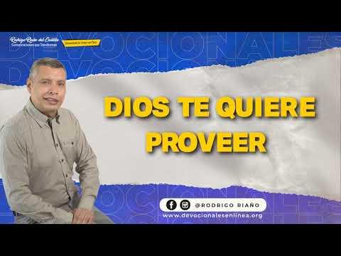 DIOS TE QUIERE PROVEER  📺 Lunes/7/Junio/2021 En Línea Con Dios