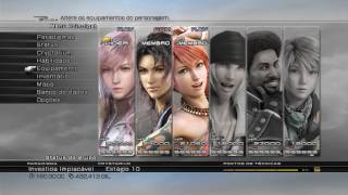 Final Fantasy XIII - My Save Game
