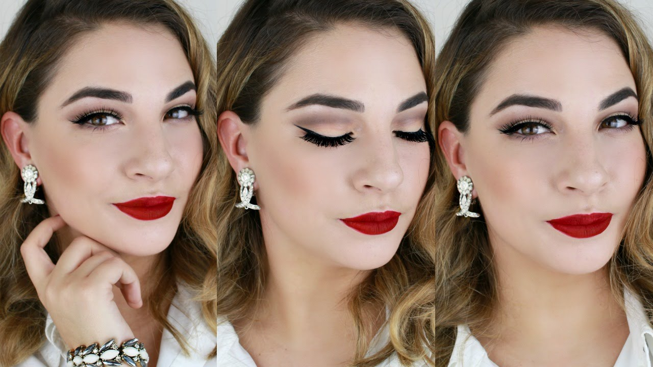 Classic Hollywood-glam makeup - Prom Fashion Guide   Hollywood Glam Eye Makeup