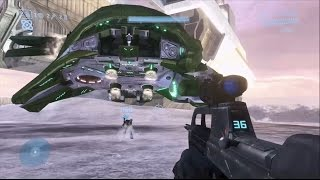 Halo 3 - Crash A Phantom + COMPLETE Time Travel On The Covenant