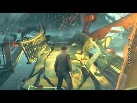 Quantum Break - Port Donnelly: Survive Collapsing Bridge (Died A lot) Cutscenes, Full Sequence