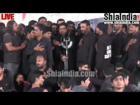 30th Muharram Musheerabad Matam of Parwan-e-Qasim & Groh-e-Asghari 1437-2015-16