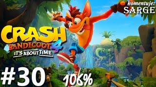 Zagrajmy w Crash Bandicoot 4: Najwyższy Czas (106%) odc. 30 - Orbita Bermuguli na odwrót
