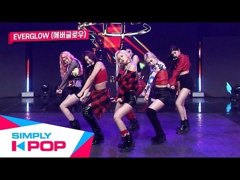 Simply K-Pop EVERGLOW에버글로우 - DUN DUN  Ep400
