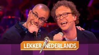 JURK zingt 'Hoerenjong' | Lekker Nederlands 2015 | SBS6