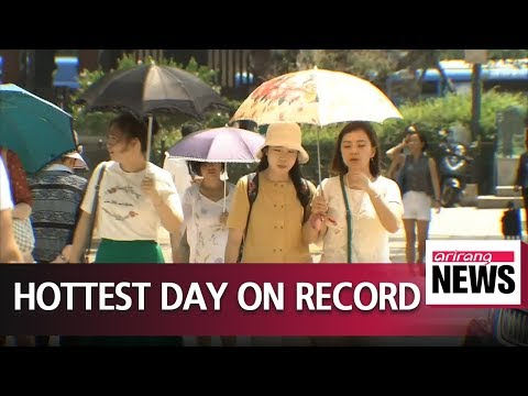 [Smart A+] First Day Of August Brings Hottest Weather On Record
