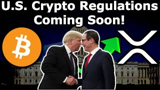 US CRYPTO REGULATIONS SOON Steve Mnuchin Trump IMF - Binance US & BRD XRP - Bitcoin Miner Stock