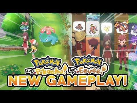 POKEMON LET'S GO PIKACHU & LET'S GO EEVEE NEW GAMEPLAY! MASTER TRAINERS ARE HERE!