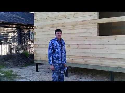 Дом из бруса в Костромской области