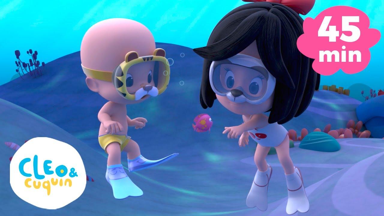 Vamos nadar e mais músicas infantis de Cleo e Cuquin em português