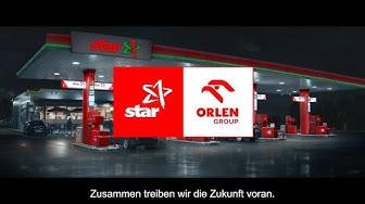 Die star Tankstellen als Teil der ORLEN Gruppe
