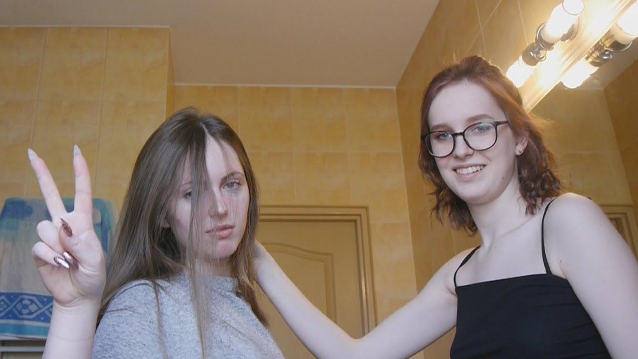 KORONAVLOG (obcinamy i farbujemy włosy)