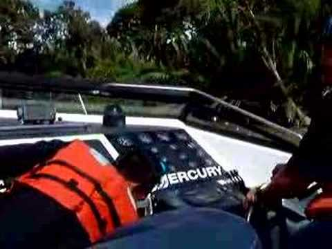 Brunei fast boat