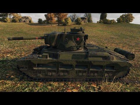 WoT Matilda IV | 10 kills (with autoaim+) | 1.600+ EXP - Redshire