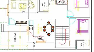 26x43 TWO BHK BEST HOUSE PLAN