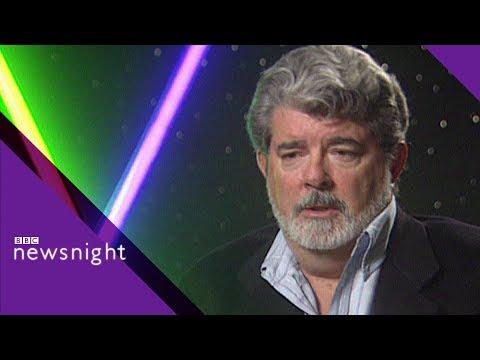George Lucas on toxic fandom and The Phantom Menace 1999 - BBC Newsnight