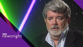 George Lucas On Toxic Fandom And The Phantom Menace 1999 - BBC Newsnight