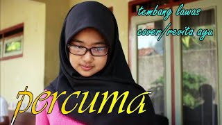 Gambar cover Percuma dangdut lawas cover - revita ayu (versi latihan) contessa music electone.