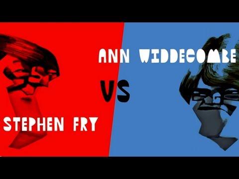 Stephen Fry vs Ann Widdecombe: Catholic Church iq2 Shorts