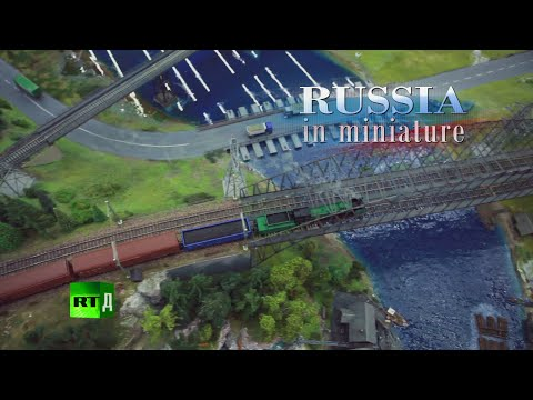 Largest model railway of Russia – Russia in miniature