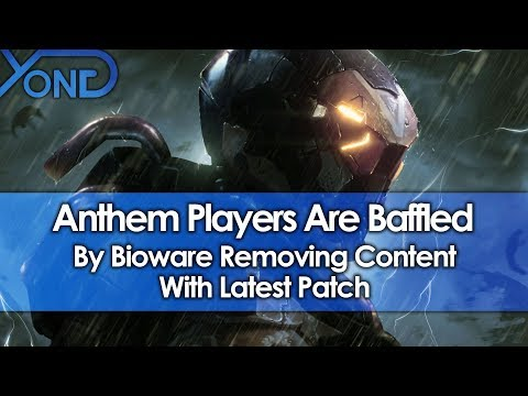 Anthem Players Baffled