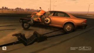 Gta IV Crashes/Accidents/Fails Compilation (Bike)