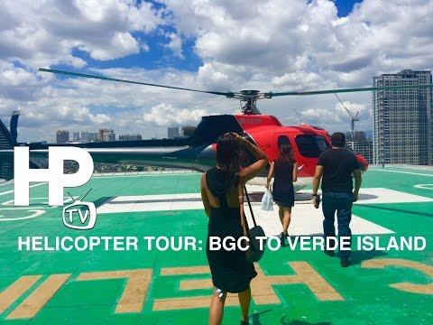 Helicopter Tour: Bonifacio Global City to Verde Island Puerto Galera by HourPhilippines.com