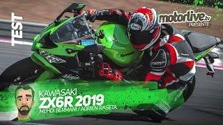 KAWASAKI ZX-6R 2019 I TEST MOTORLIVE