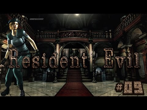 Let's Play - Resident Evil HD Remaster [Jill/German/HD] #09 - Hai-Alarm!!