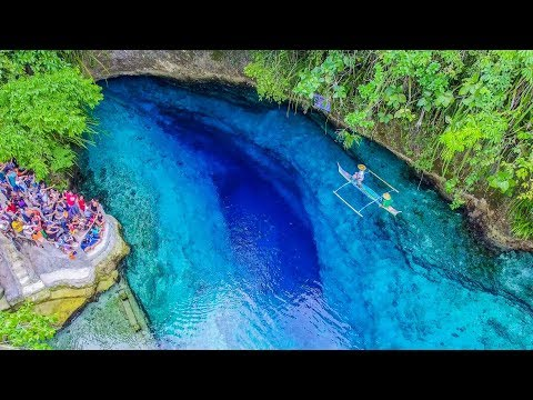 ENCHANTED RIVER is CRYSTAL CLEAR! || Philippines Adventure!