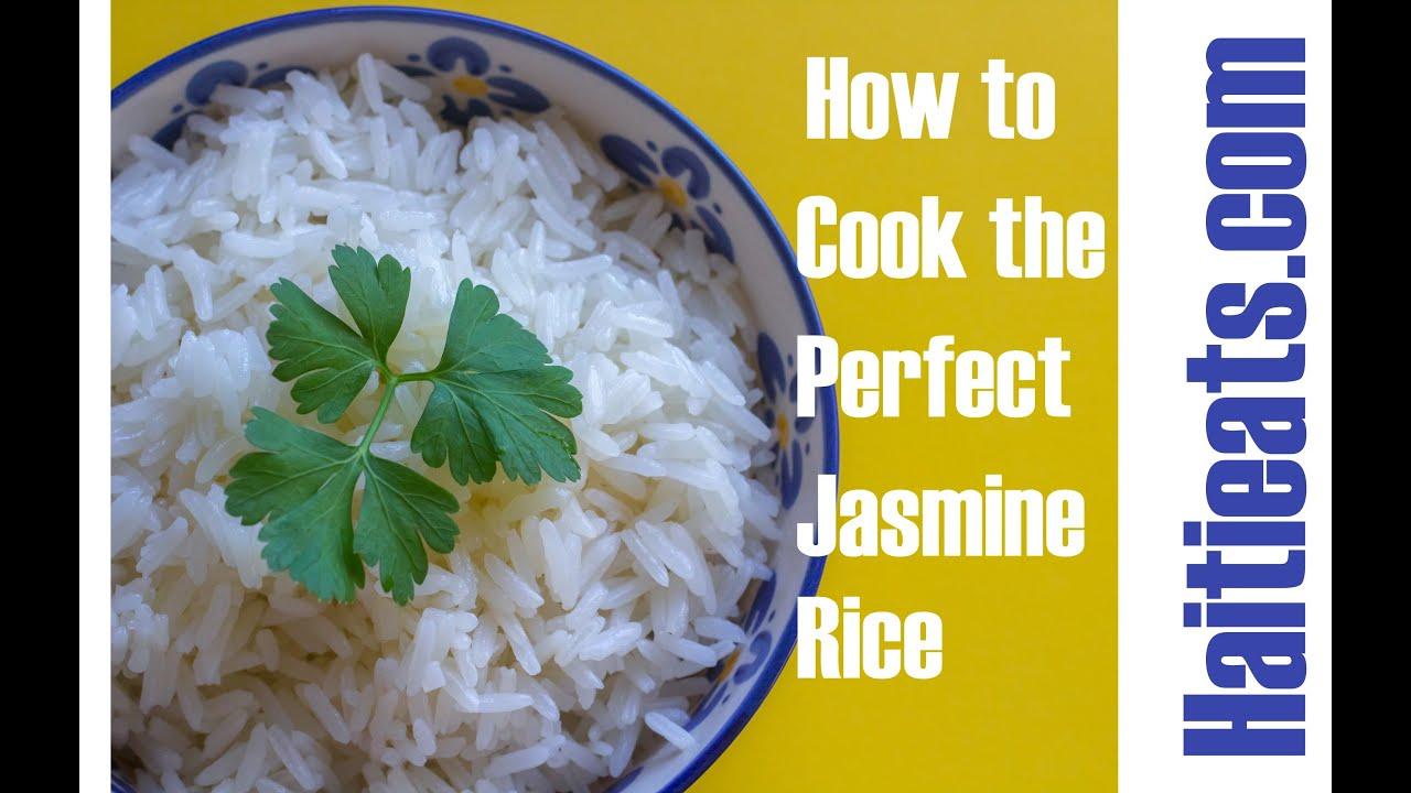 Cook the Perfect Jasmine Rice   Easy Method - YouTube