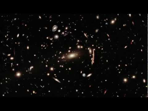 Hubble: Zoom Into Galaxy Cluster MACS 1206 [1080p]